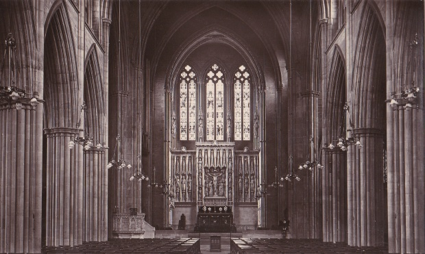 All Saints Hove - postcard from Kate's archive