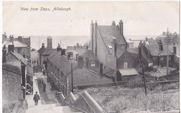 Aldeburgh Town Steps