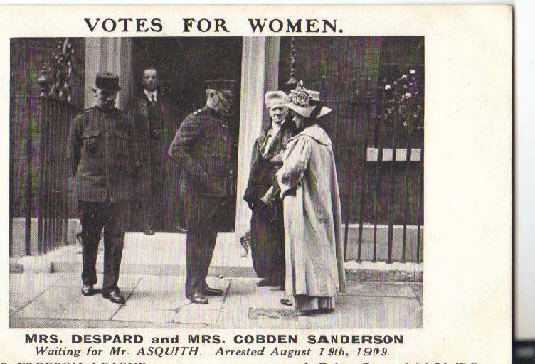 Mrs Cobden Sanderson and Mrs Despard