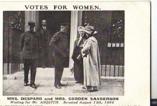 Mrs Cobden Sanderson and Mrs Despard