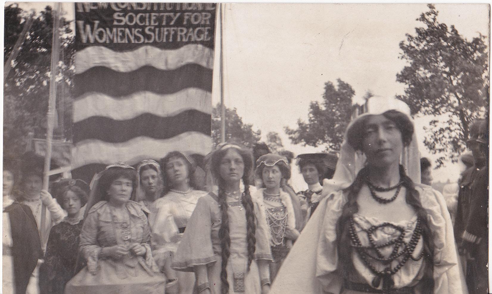 Coronation Procession - NCS Banner