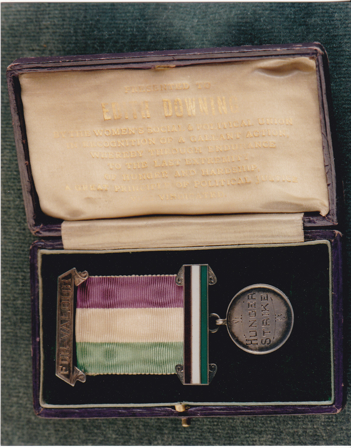 Edith Downing's Hunger Strike Medal