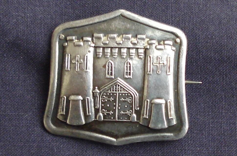 Women's Freedom League 'Holloway' brooch