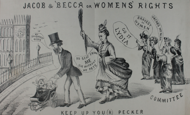 Cartoon (courtesy of Manchester Archives + Partnership Blov)