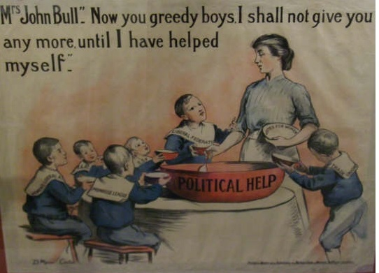 Poster designed by Dora Meeson Coates and published by the Artists' Suffrage League