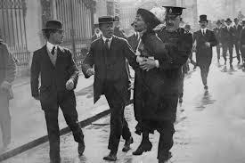 Mrs Pankhurst Buckingham Palace