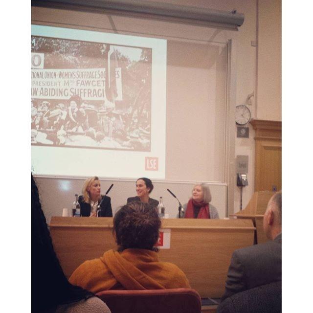 Suffragette LSE discussion