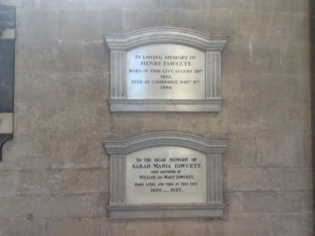 Fawcett cathedral memorials