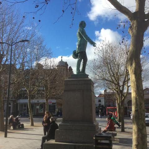Fawcett statue