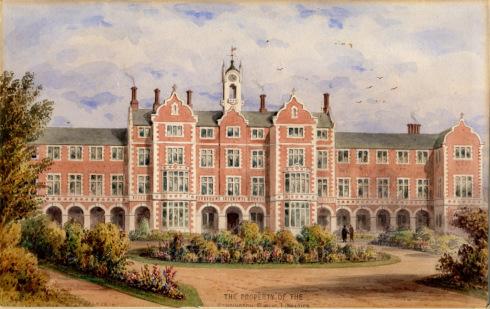 Kensington Workhouse (courtesy RBKC Library)