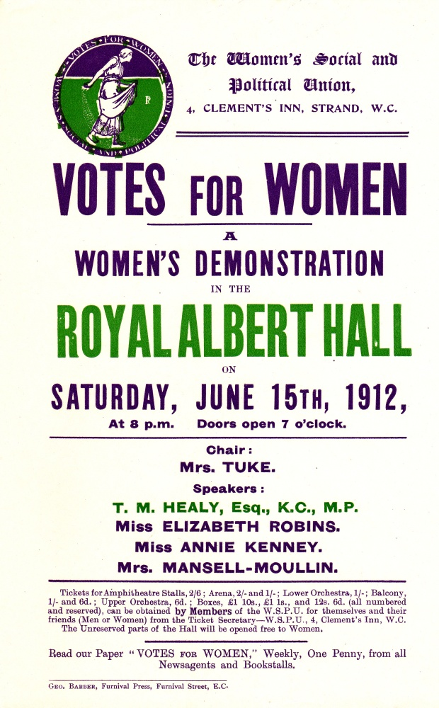 Royal Albert Hall Flyer