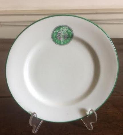 Suffragette plate