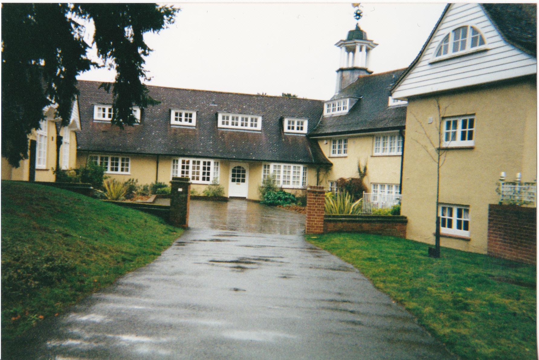 A corner of the former East Anglian Sanatorium