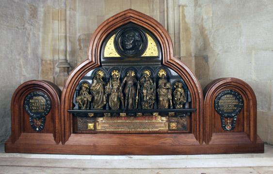 Fawcett Memorial in St George's Chapel, Westminster Abbey