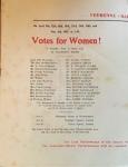 Votes for Women programmeinside